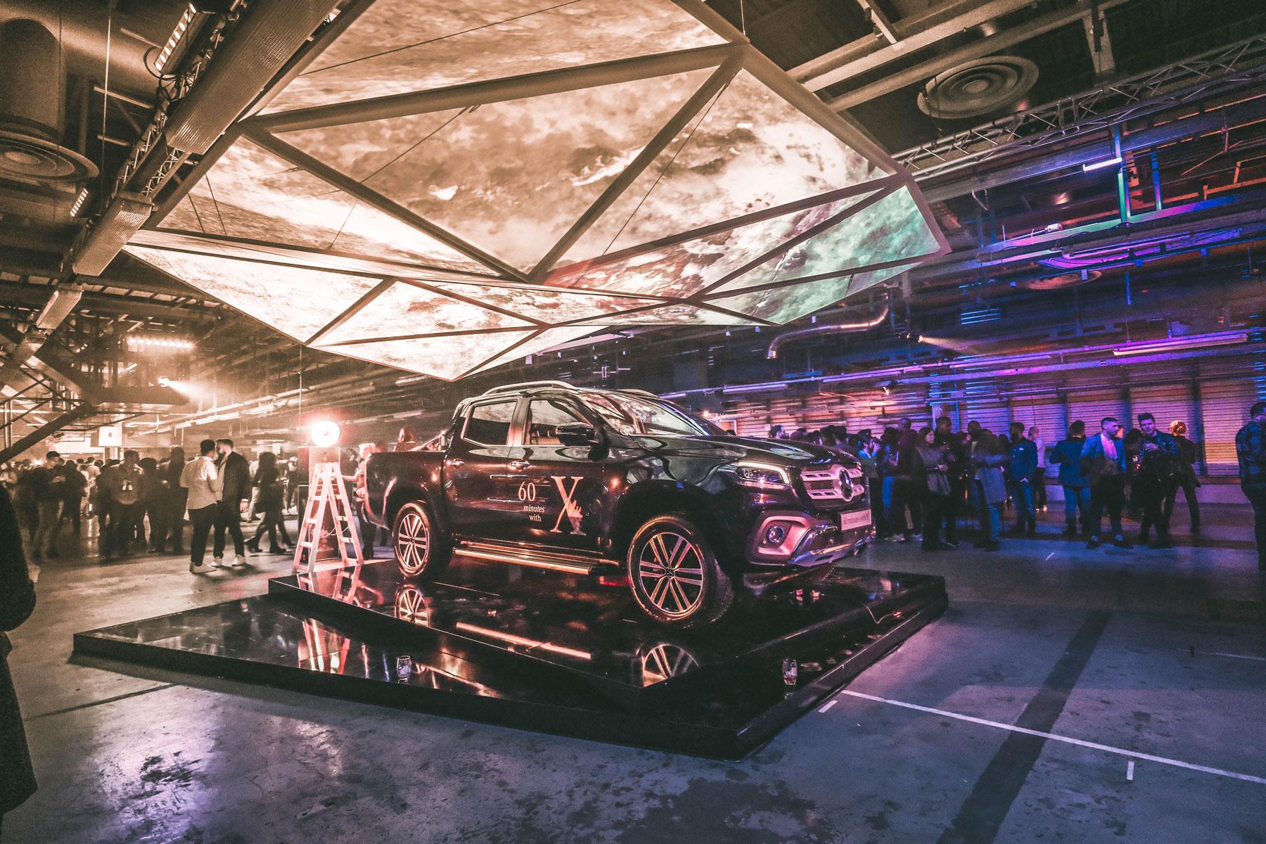 Mercedes X-Class launch Momentum Social