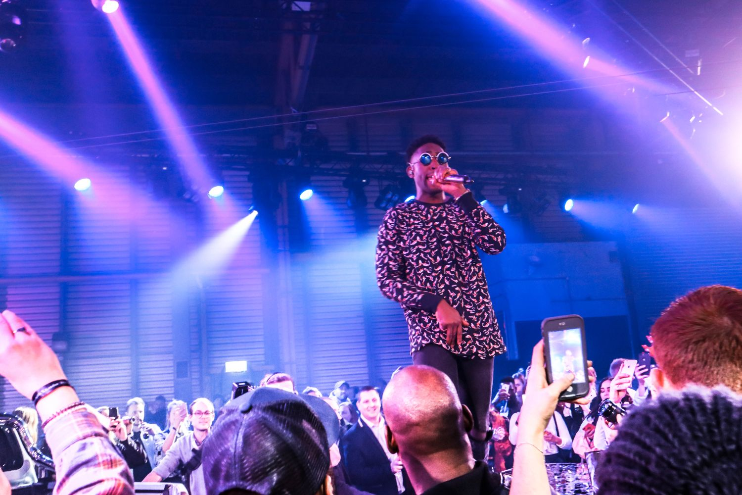 Tinie Tempah at Mercedes Benz X-Class